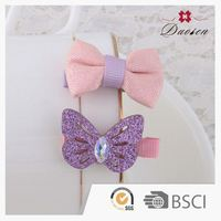 Good Quality New Arrived Best Kids Plastic Flower Hair Clip Factory