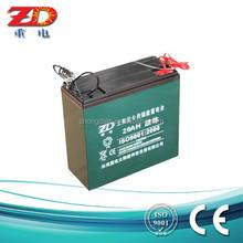 Factory Provid Solar Battery Price For Solar Street Light