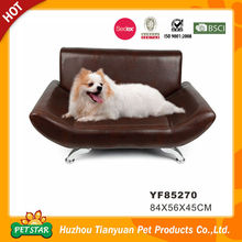 Professional Factory Direct Leatherette Easy Clean Sofa Bed Luxury Pet Dog Bed