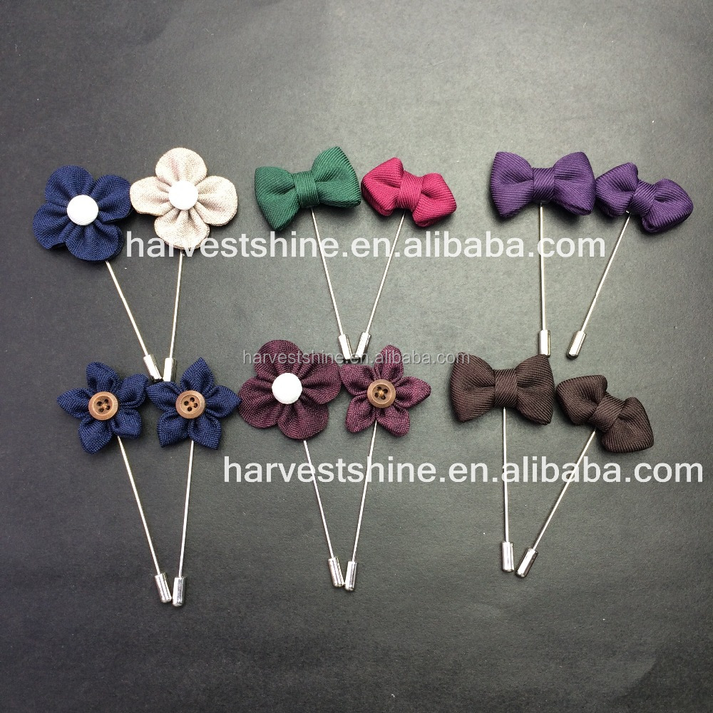 Antique Flower Lapel Pins,Bow Flower Brooch Pins,Simple ...