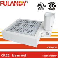 UL / cUL ETL DLC approved 1000 watt shoebox fixtures top quality 5years warranty LED shoebox light 100W 150W 240W 320W