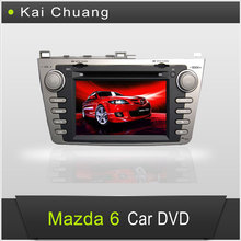Professional Double Din Car DVD for Mazda 6 2012