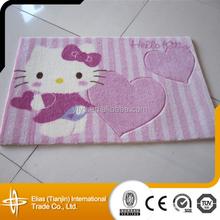 Children Room 100% Acrylic Hello Kitty Kids Carpet