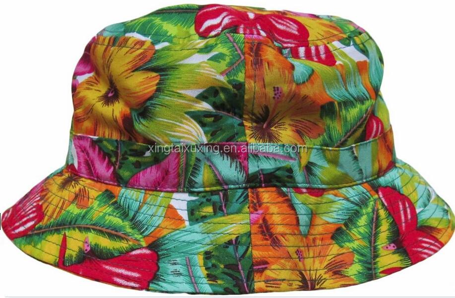 Bucket Hats Flowers Bucket Hat Flower Pattern