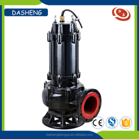 Vertical inline centrifugal submersible sewage pump