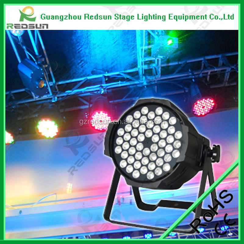 wash 54 3w rgb professional stage lighting led aluminum par light