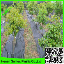 high quality 100g PP weed and grass barrier control mat for agriculture