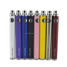 Jinfushi e cig factory new colorful e-cigarette ce4 vaporizer evod twist battery blister kit