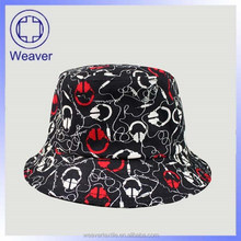 High Quality Custom Printed Bucket Hats Print Pattern Tie Dyed Bucket Hats