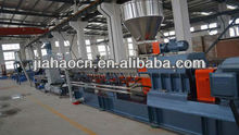 PP/PE plastic granulate/water-ring granulation line