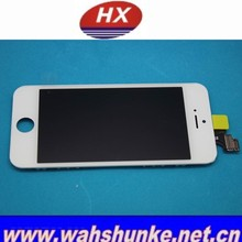 Chinese wholesale cell phones lcd screen with spare part for iphone 5 , mobile clones lcd screen with spare part