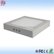 CE Rohs Approved 18W hot sell led surface mounted panel light
