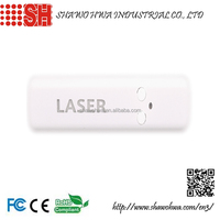 Flashing Custom Logo Printed USB Rechargeable Multifunctional Laser Pointer with LED light and 8G/16G Flash drive