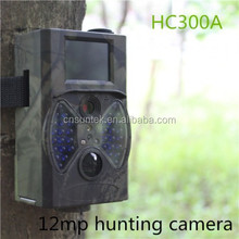 HOT SALE 12MP Outdoor Motion Game Trail Cameras with Black Flash HC300A