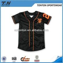 2014 sublimation cheap baseball uniforms