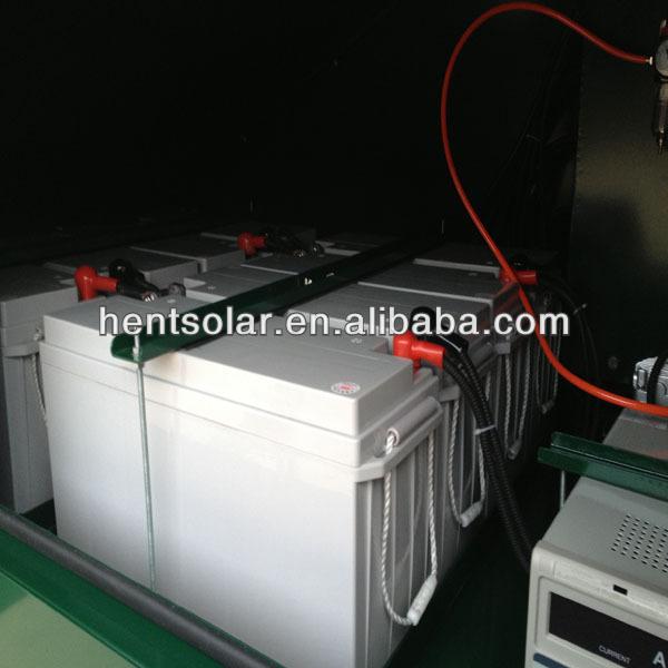 Lumière solaire tour générateur