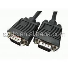 wholesale DVI to VGA Cable DVI to VGA HD 15pin 2m and 9pin cable for computer LCD