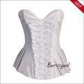 Venta caliente señora sexy corset bustier corsé gótico atractivo con las bragas
