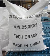Factory price 25kg/bag or 1000kg/bag 74% 77% Calcium Chloride Dihydrate/calcium chloride food grade