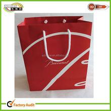 custom printed gift paper bag