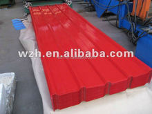 ppgi steel corrugated roofing sheets for animal shed / color steel sheet made in China