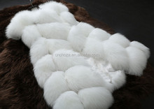 Z62328W europea fashion ladies fox fur vest
