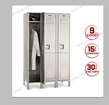 High quality USA supermarket storage foot locker/ metal staff store locker
