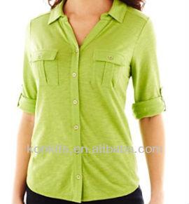 Moda diseño de la mujer de la blusa