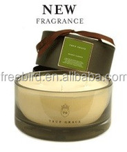 3-Wicks Birthday Scented Soy Candle in high end glass with gift box