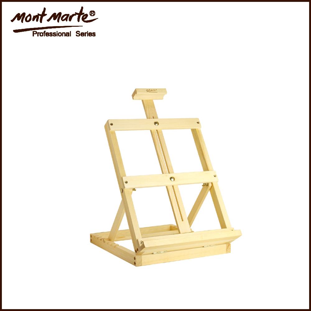 Wood table top easel buy wood easel table top easel pine wood easel