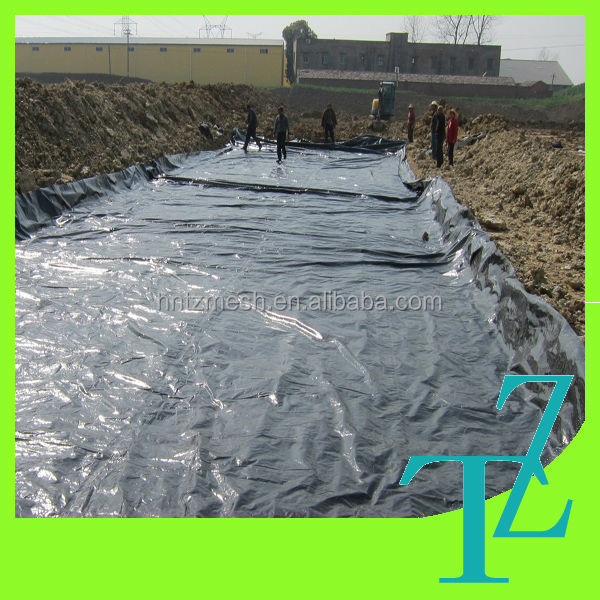 Plastic Fish Farm Geomembrane Pe Fish Pond Liner For