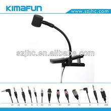 Tie Profesional Clip instrumento de música Micrófono HC-308