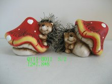 Hedgehog decoration for 2012 QY11-B011