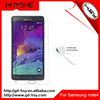 HUYSHE wholesale cell phone accessory 9h 0.3mm tempered glass screen film for samsung galaxy note 4