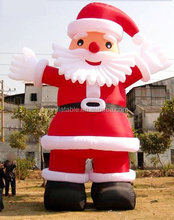 7m Large inflatable santa in good quality for christmas Eve