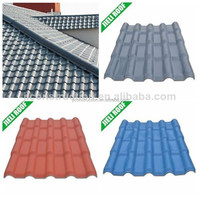 Sound absorption and heat insulation light weight spanish tile roof