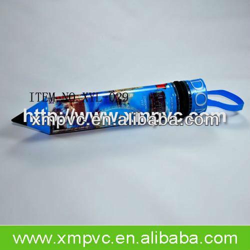2014 School plastic pvc pencil case with zipper XYL-S009