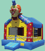 hot selling Inflatable clown bounce house, inflatable bouncers en14960 for sale