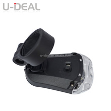 CE ROHS approved low price bicycle helmet light