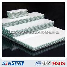 SANPONT Placa de gel de análisis de cromatografía de vidrio del alto grado de capa fina de sílice