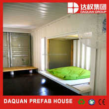 Competitive Price shipping pre-made container house in China light steel frame pre-made container house factory supply