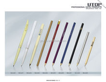 Hot-sale Professional Hotel Promotional Plastic Ball Pen, Plastic Hotel Pencil