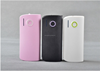Mobile 4000mAh Portable External Power Bank Battery Charger For iPhone HTC LG