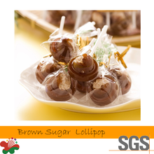 Taiwan Manufacturer Brown Sugar Added Plum Lollipop Candy