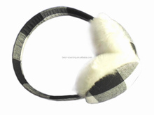 cheap price earmuff, promotion type earmuff, plush/fleece/knitted fashion earmuff
