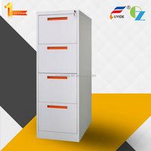 Professtional furniture manufacturer knock down vertical 4 drawer steel file cabinet production process