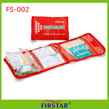 Medical vehicle first aid emergency kit emergency road kits