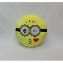 5 kinds Different Expression Despicable Me Anime Plush Pillow