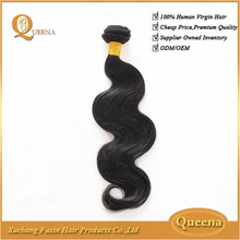 High quality cheap virgin can be dryed unprocessed brazilian body wave hair