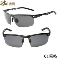 Best Selling Aluminum Polarized Night Vision Driving Sunglasses Sports Googles